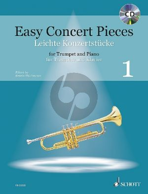 Easy Concert Pieces Vol.1 (22 Pieces from 5 Centuries) Trumpet-Piano (Bk-Cd) (edited by Kristin Thielemann)