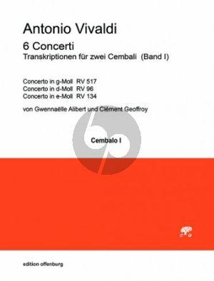 Vivaldi 6 Concerti Band 3 2 Cembali (transcr. Gwennaelle Alibert und Clément Geoffroy)