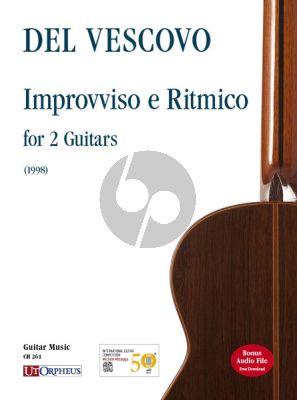 Vescovo Improvviso e Ritmico for 2 Guitars (1998) (Score/Parts)