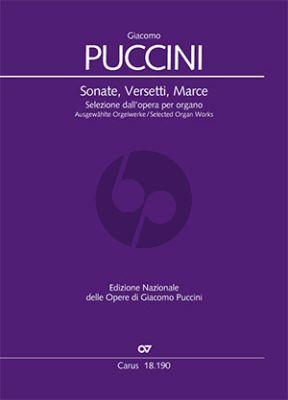 Puccini Sonate, Versetti, Marce (Selected Organ Works) (Virgilio Bernardoni)