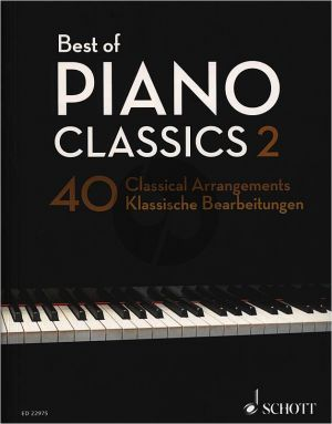Best of Piano Classics 2 (40 Classical Arrangements) (edited. H.G.Heumann)