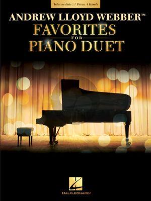 Andrew Lloyd Webber Favorites for Piano Duet