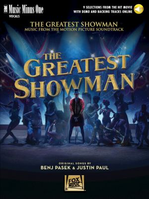 Pasek-Paul The Greatest Showman Piano-Vocal (Book with Audio online (Music Minus One)