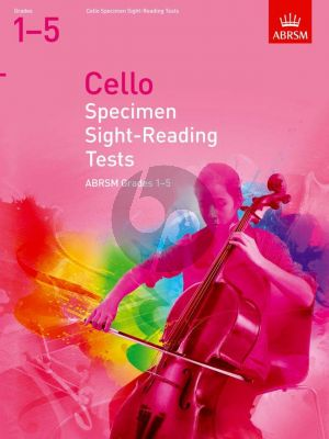 Cello Specimen Sight-Reading Tests ABRSM Grades 1–5