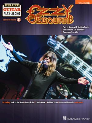 Ozzy Osbourne - Deluxe Guitar Play-Along Vol.8 (Book with Audio online)