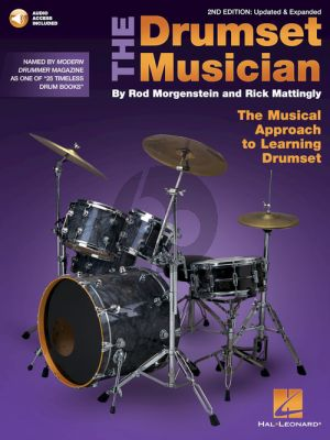 Morgenstein-Mattingly The Drumset Musician – 2nd Edition Updated & Expanded (Book with Audio online)