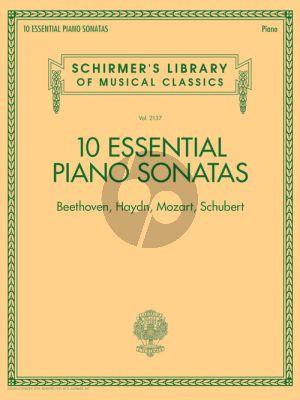 10 Essential Piano Sonatas – Beethoven, Haydn, Mozart, Schubert