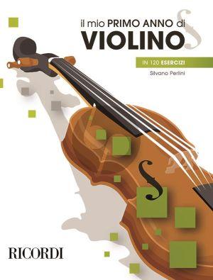 Perlini Il Mio Primo Anno Di Violino in 120 Esercizi