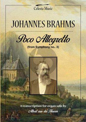 Brahms Poco Allegretto (uit Symphonie No.3) Orgel (Albert van der Hoeven)