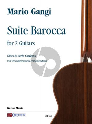 Gangi Suite Barocca for 2 Guitars (edited by Carlo Carfagna and Francesco Russo)