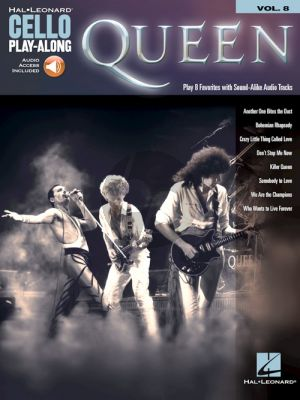 Queen 8 Favorites (Cello Play-Along Series Vol.8) (Book with Audio online)