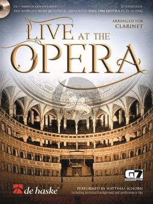 Live at the Opera - Clarinet (Bk-Cd)