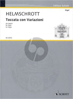 Helmschrott Toccata con Variazioni Organ (1957)
