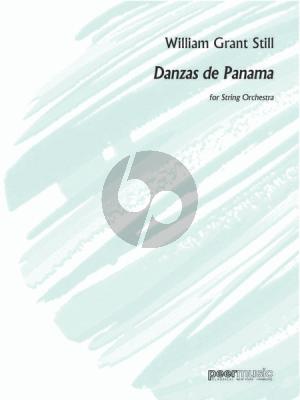 Grant Danzas de Panama String Orchestra Fullscore