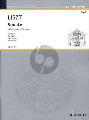 Liszt Sonate h-moll Orgel (nach Klaviersonate) (transcr. Andreas Rothkopf)