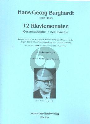 Burghardt 12 Klaviersonaten Vol.2 No.7 - 12 (Thomas Emmerich)
