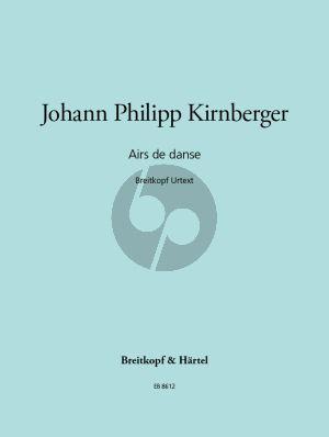 Kirnberger Airs de Danse für Cembalo (Ulrich Mahlert)