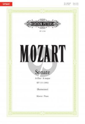 Mozart Sonate A-Dur KV 331 (300i) Klavier (Klaus Burmeister)