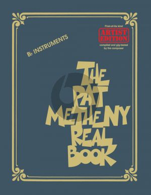 The Pat Metheny Real Book B-Flat Instruments