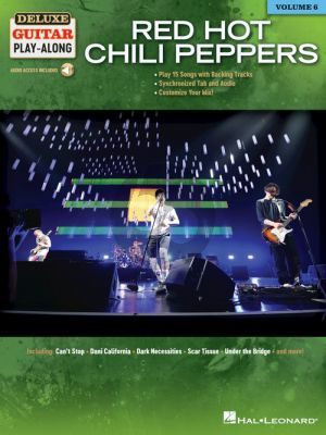 Red Hot Chili Peppers - 15 Songs (Deluxe Guitar Play-Along Volume 6) (Book with Audio online)