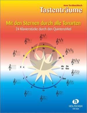 Terzibaschitsch Mit den Sternen durch alle tonarten - 24 Klavierstücke durch den Quintenzirkel