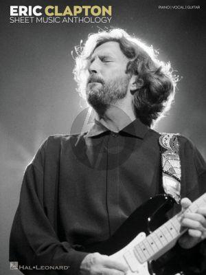 Eric Clapton Sheet Music Anthology Piano-Voccal-Guitar