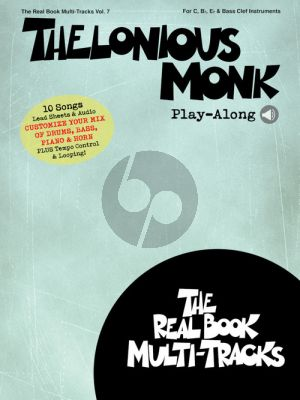 Thelonious Monk Play-Along for C.-Bb.-Eb. and Bass clef Instruments (Book with Audio online)