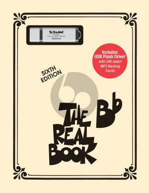 Album The Real Book Vol.1 for Bb-instruments Book with USB Flash Drive