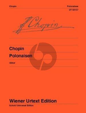 Chopin Sämtliche Polonaisen Piano solo (edited by Christian Ubber) (Wiener-Urtext)