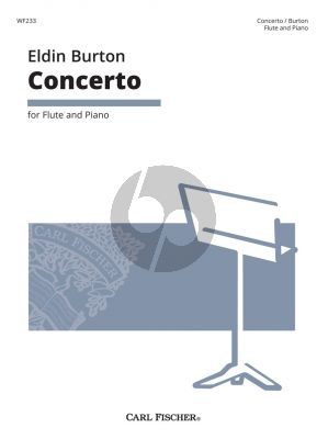 Burton Concerto for Flute and Piano (edited by Simon Reeves)