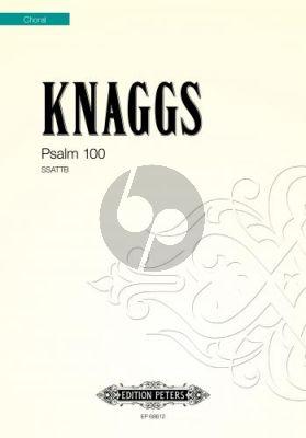 Knaggs Psalm 100 SSATB