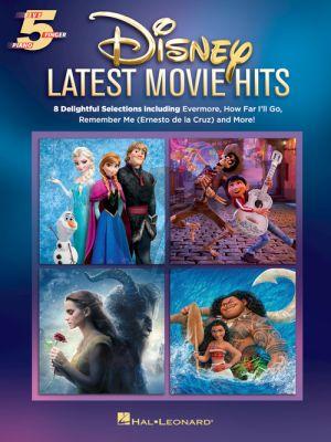 Disney Latest Movie Hits 5 Finger Piano