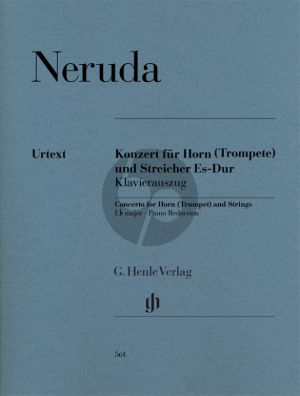 Neruda Concerto for Horn (Trumpet) and Strings E flat major