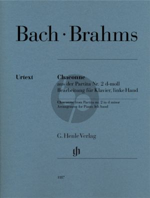 BrahmsChaconne from Partita no.2 d-minor (Johann Sebastian Bach)
