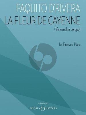 Rivera La Fleur de Cayenne (Venezuelan Joropo) Flute and Piano