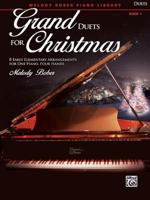 Bober Grand Duets for Christmas Book 1 Piano 4 hds