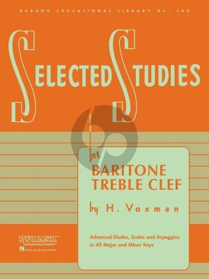 Voxman Selected Studies for Baritone (Treble Clef)
