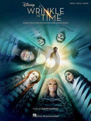 Djawadi A Wrinkle in Time Music from the Motion Picture Soundtrack Piano-Vocal-Guitar