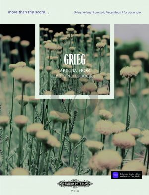 Grieg Arietta Op.12 No.1 (from Lyric Pieces Book 1) Piano solo (edited by Daniel Grimwood)