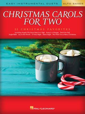 Christmas Carols for Two Alto Saxes (arr. Mark Phillips)