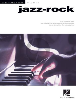 Jazz-Rock - Jazz Piano Solos Series Volume 53
