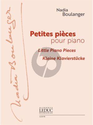 Boulanger Petites Pièces pour Piano