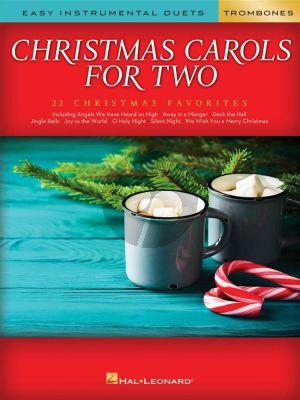 Christmas Carols for Two Trombones (arranged by Mark Phillips)