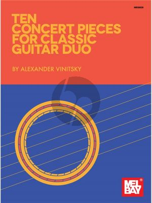 Vinitsky 10 Concert Pieces for Classic Guitar Duo