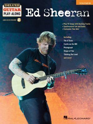 Ed Sheeran The Deluxe Guitar Play-Along Series vol.9