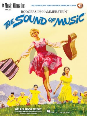 Rodgers-Hammerstein The Sound of Music for Female Singers (Sing 8 Favorites with Sound-Alike Demo & Backing Tracks Online) (MMO)