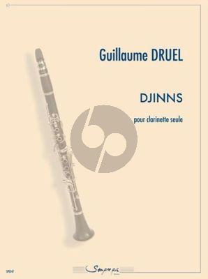Druel Djinns Clarinette seule