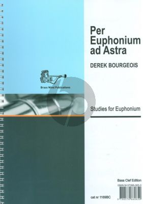 Bourgeois Per Euphonium ad Astra Bass Clef