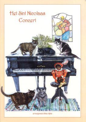 Anke Apitz Het Sint Nicolaas Concert (Piano 4-Handen)