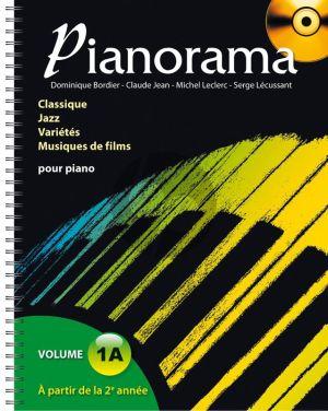 Pianorama Volume 1A (Livre avec CD) (Bordier-Jean-Leclerc et Lécussant)